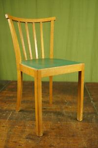 50er Vintage Dining Room Chair Kitchen Rockabilly Sprossenstuhl Retro Green
