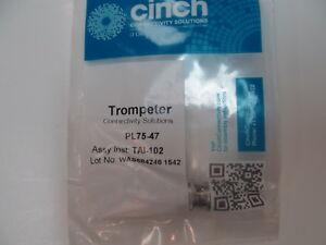 Trompeter PL75-47 Connector Twinax Plug Straight Crimp NEW