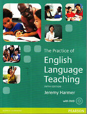 THE PRACTICE OF ENGLISH LANGUAGE TEACHING w DVD Jeremy Harmer FIFTH EDITION @New