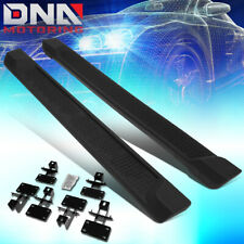 FOR 2018-2019 JEEP WRANGLER JL 4DR UNLIMITED PAIR SIDE STEP BAR RUNNING BOARDS