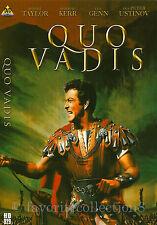 Quo Vadis (1951) - Robert Taylor, Deborah Kerr, Leo Genn - DVD NEW