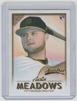 2018 Topps Gallery Artist Proof #90 Austin Meadows RC Pittsburgh Pirates Rookie