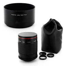 Albinar 500mm Mirror Lens fo Nikon D50 D40X D40 D2H D2X D1X D1H D5100 D7000 D200