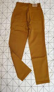 Jean enduit Lee Cooper LC15 T40 W31 jaune moutarde camel TBE