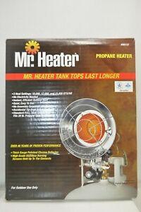 Mr. Heater Single Tank Propane Heater 3 Heat Settings 10,000 12,000 15,000 BTU