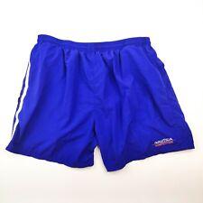 Nautica Competition Men's Swim Suit Trunks Size XXL 2XL Blue Spellout