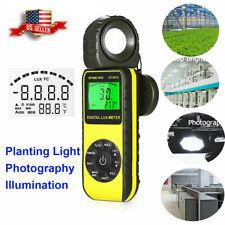 Digital Lcd Lux Light Meter 001fc40000 Fc Luminance Tester Handheld Maxmin