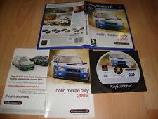 COLIN MCRAE RALLY 05 DE CODEMASTERS PARA LA SONY PS2 USADO COMPLETO