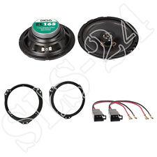 Opel Astra F/G + Calearo EL165 2-Wege Lautsprecher 100W, 165mm Ringe + Adapter