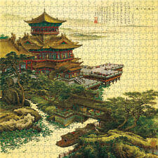 Wooden Jigsaw Puzzles 900 PCS Chinese Painting Collectibles Art Gift Home Decors