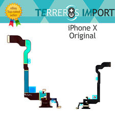 Flex Dock Conector Carga para iPhone X Negro Calidad Original PREMIUM
