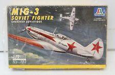 Itareri MiG-3 Soviet Fighter 1/72 Scale Model Kit