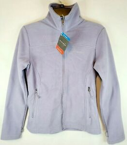 Columbia Fall II Full Zip Fleece Jacket Women's Lilac XS NWT