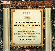 Verdi: I Vespri Siciliani / Muti, Studer, Merritt, Zancanaro - LP Vinyl 33 Rpm