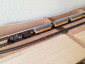 Composición de tren de vapor americana Union Pacific marca Bachmann