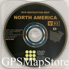 GEN6 Navigation DVD U.S Canada Map For 2010 2011 2012 2013 Toyota 4Runner Tundra