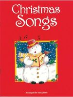 Christmas Songs For Easy Piano Learn to Play Xmas Carols Songs Tunes Music Book