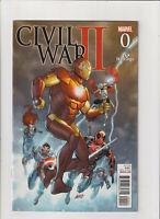 Civil War II #0 VF 8.0 Marvel Comics 2016 Hastings Variant Rob Liefeld