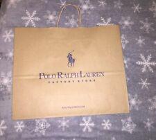 2acd4d0528d7 1 X Designer Paper Store/Shopping Bag 💯 % Genuine Ralph Lauren 35/40