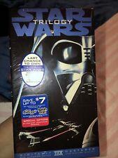 Star Wars Trilogy Sealed Vhs Return Of Jedi, Empire Strikes Back, A New Hope
