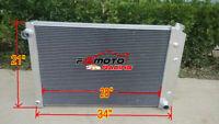 """3 ROW Aluminum RADIATOR For 81-90 Chevy C/K Series Trucks GMC Pickup Trucks 34"""""""