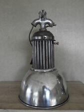 antique CEILING light PENDANT antique vintage lamp industrial machine age