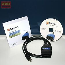 OBD USB K+CAN UDS Diagnose Interface für VW GOLF JETTA + CarPort Software TOP !!