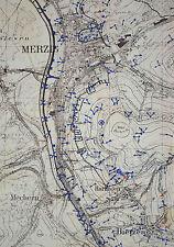 WWII German Army Westwall (Siegfried Line) Maps 1940