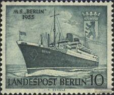Berlin (West) 126 postfrisch 1955 Motorschiff Berlin