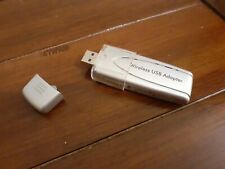 NETGEAR WPN111 Wireless USB Adapter - Silver, Used, with cap and protector.