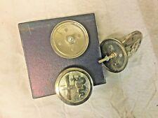 Vintage ALFA ROMEO Round Metal Badge Emblem selling by pcs (Ref.138)