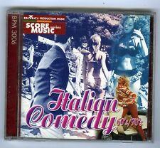 CD OST SCORE MUSIC SERIES ITALIAN COMEDY 60/70