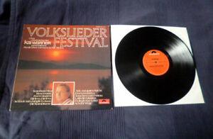 LP Kai Warner - Volkslieder Festival Ännchen Von Tharau Karobuschka Polydor
