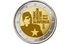 "SLOVENIE SPECIALE 2 EURO 2011 UNC  ""FRANK ROZMAN"""