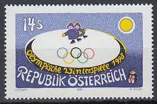 Österreich Austria 1998 ** Mi.2243 Olympische Spiele Olympic Games Winter