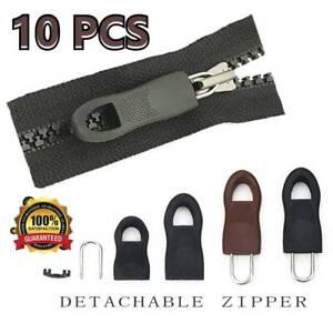 10XUniversal Detachable Zip Zipper Puller Wide Waistbands Elastic Waist Two Size