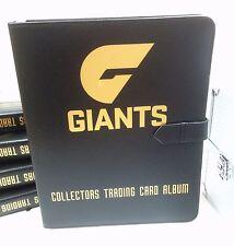 AFL CLUB COLLECTORS TRADING CARDS ALBUM -- Greater Western Sydney Giants (GWS)