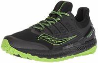 Saucony Men's Xodus Iso 3 Sneaker, Black/Slime, Size 12.0 Og31