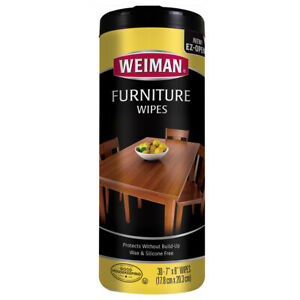 Pack of 30 Weiman Furniture Wipes