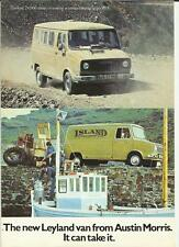 AUSTIN MORRIS VAN, CREWBUS, MINIBUS, PICK UP,CHASSIS CAB SALE BROCHURE 1974 1975