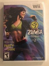 ** Zumba Fitness 2 - Wii - Brand New - Factory sealed - NO BELT - Free Shipping!