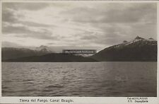 ARGENTINA TIERRA DEL FUEGO CANAL BEAGLE PAISAJE FOT. KOHLMANN REAL PHOTO 831