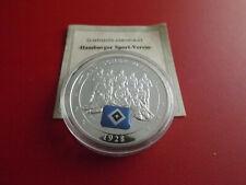 *Hamburger-SV*Deutscher Meister 1928* Medaille PP Versilbert (Schub102)