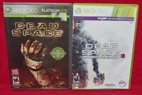 Dead Space 1 + 3  -  Horror Games XBOX 360 - Game Lot - Working + Tested
