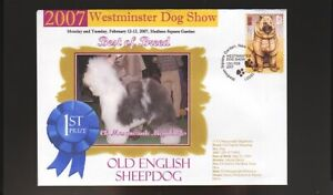 2007 DOG SHOW BEST of BREED COVER, OLD ENGLISH SHEEPDOG