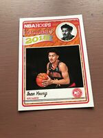 Trae Young Rookie Card: 2018-19 Panini Hoops Basketball - Class Of 2018