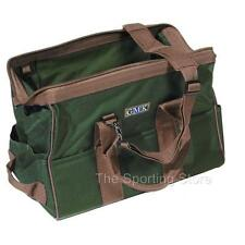 GMK Large Range Gear Bag in Green & Brown for Shooting Clay Pigeon Skeet Game