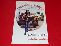 COLL.J. LE BOURHIS AFFICHES Spectacles /  Claude REBOUL L'ORGANISTE BARBARE 1980