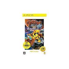 Used PSP Ratchet & Clank 5 Gekitotsu Dodeka Ginga SONY PLAYSTATION JAPAN IMPORT