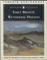 Wuthering Heights Emily Bronte 4 Cassette Audio Book NEW Prunella Scales
